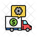 Logistics Service Management Services Cost Icon