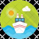 Logistics Ship Icon