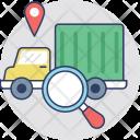 Logistics Tracking Icon