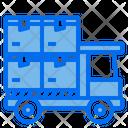 Logistics Truck Icon