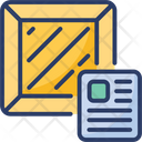 Logistics Waybill Delivery Receipt Icon