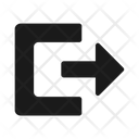 Log Out Exit Logout Icon