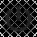 Logout Reset Power Icon