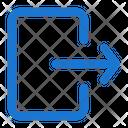 Logout Web App Icon