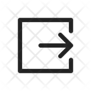 Logout Log Out Export Icon