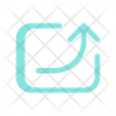Logout Send Export Icon