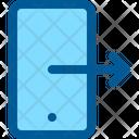 Logout Log Phone Icon