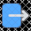 Logout Come Out Exit Icon
