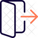 Logout Doot Icon