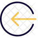 Logout Direction Icon
