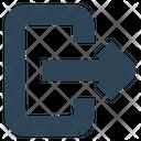 Social Arrow Left Icon