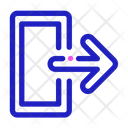 Out Zoom Exit Icon