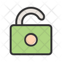 Logout Unlock Safety Icon