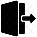 Logout Exit Log Icon