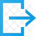 Exit Logout Interface Icon