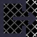 Logout Exit Arrow Icon