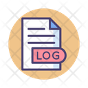 Logs Files Documents Icon