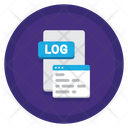 Logs Log File Log Document Icon