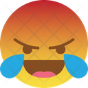 Lol Laugh Angry Icon
