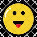 Lol Smile Face Icon