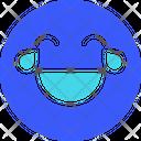 Lol Emoji Expression Icon