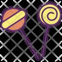 Icandies Lolipop Candies Icon
