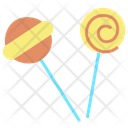 Icandies Lolipop Candies Icon