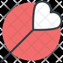 Lollipop Heart Shaped Icon
