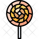 Sweet Lollipop Candy Icon