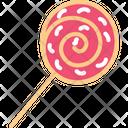 Lollipop Chocolate Sweet Icon