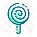 Lollipop Candy Caramel Icon