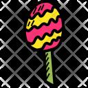 Lollipop Egg Dessert Icon