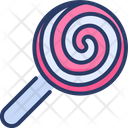 Lollipop Candy Sucker Icon