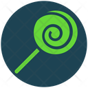 Halloween Lollipop Candy Icon