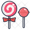 Lollipop Sweet Candy Icon