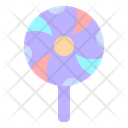 Lollipop Popsicle Scary Icon
