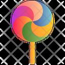 Dessert Lollypop Candy Icon