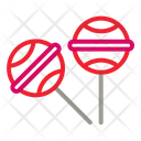 Lollipop Cand Food Icon