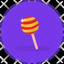 Lollipop Candy Stick Rattle Pop Icon