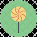 Lollipop Candy Cane Icon