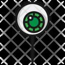 Eye Ball Candy Lollipop Icon