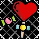 Lollipop Sweet Face Icon