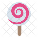 Spiral Lolly Rainbow Icon