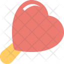 Heart Shaped Lollipop Icon