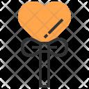 Lollipop Heart Love Icon
