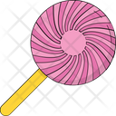 Lollipop Confectionery Sweet Snack Icon