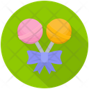 Lollipops Sweet Candies Candy Sticks Icon