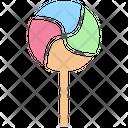 Lollypop Candy Dessert Icon