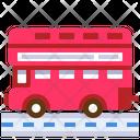London Bus Bus Public Transportation Icon