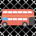 London Bus Double Icon
